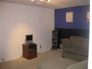Den / TV & video game entertainment room.